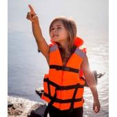 Детский Жилет страховочный Юнга В, с воротником, PU, до 55кг