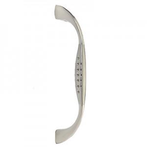 Ручка мебельная D4-CP/SN(хром/матовый хром), 96 мм