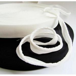 Лента окантовочная 18 мм, рул. 100 м, белая и черная