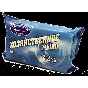 Мыло хозяйственное твердое 72% 150 гр (флоу-пак)