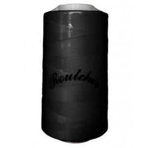 Нитки швейные Routsher 40/2 100% ПЭ 5000 ярдов (черные)