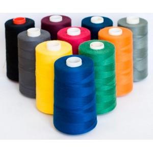 Нитки швейные Routsher 40/2 100% ПЭ 5000 ярдов (цветные)