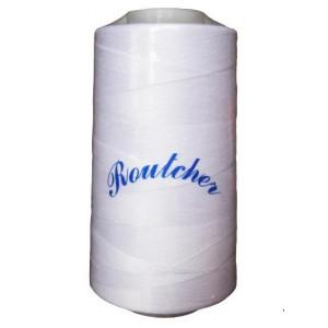 Нитки швейные Routsher 40/2 100% ПЭ 5000 ярдов (белые)