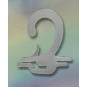 Крючок для этикетки носков арт. 008 (10х2мм) с фиксатором