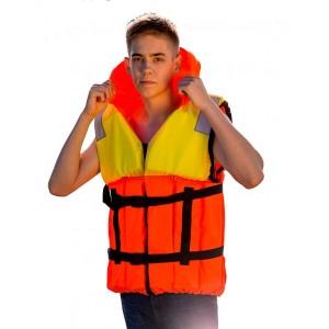 Жилет спасательный Шкипер, Оксфорд PU, до 115кг