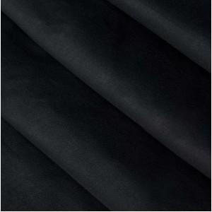 Сатин гл/кр черный 250 см. 125+/,5 г/м.кв