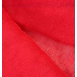 Ситец красный / бордо крашение 80 см. 64+/,5 г/м.кв